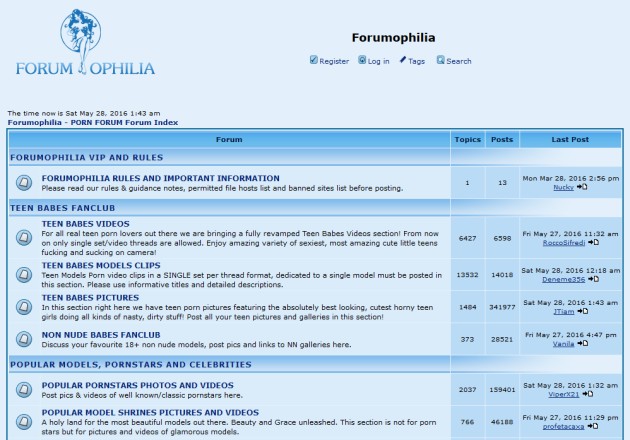 forumophilia